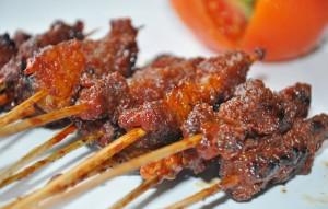 sate daging rembige lombok