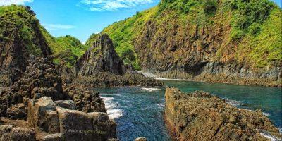 Pemandangan Pantai Semeti Lombok via wisatadilombok.com