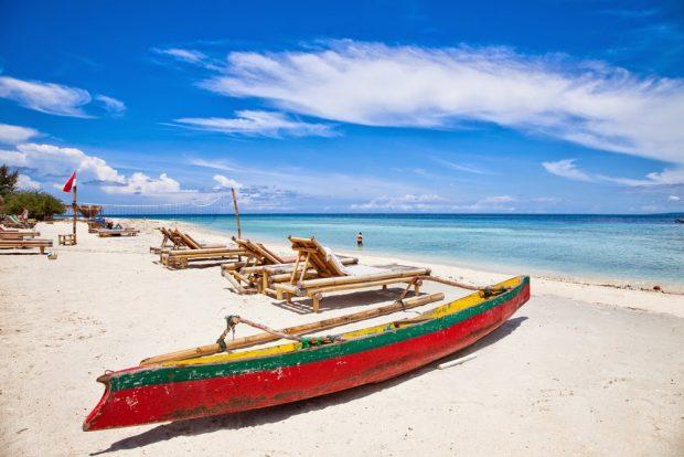 Pantai Gili Trawangan Lombok