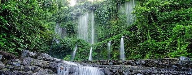 Air Terjun Benang Kelambu Lombok