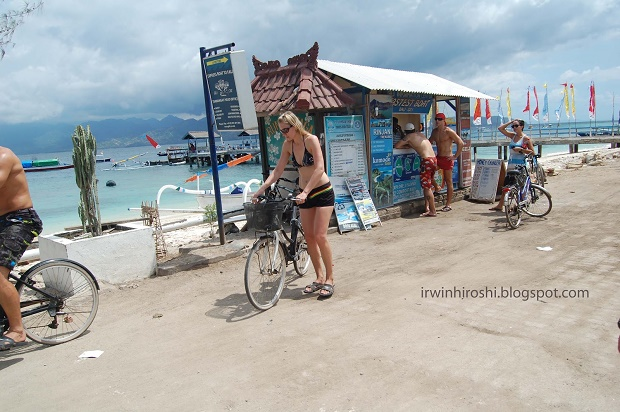 Transportasi Sepeda di Gili Trawangan