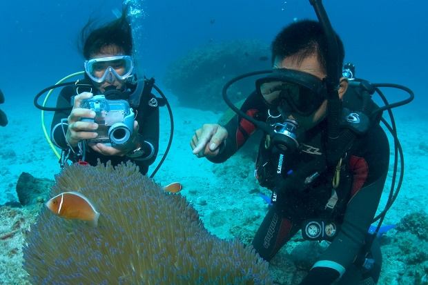 Diving di Gili Trawangan
