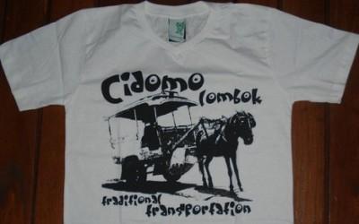 kaos asli dari Lombok