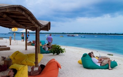 Wisata ke Pantai Gili Trawangan Lombok
